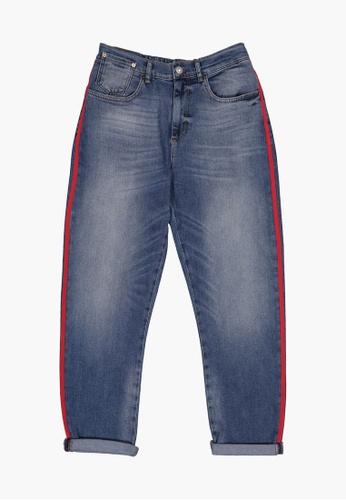 United Colors of Benetton 藍色 單寧牛仔褲 560ADAA2B10887GS_1