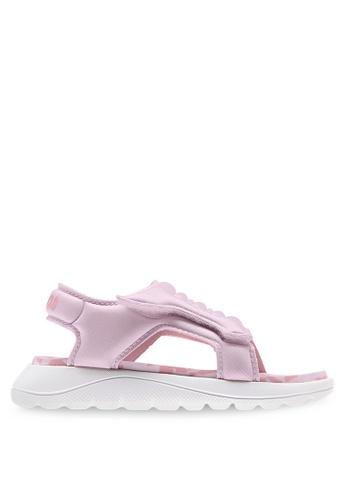 Adidas 粉紅色 comfort sandals 02240KS4E9F7C5GS_1