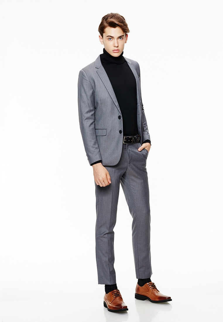 grey 11127 formal style suit mens grey stripes life8 grey