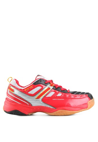 Spotec red Imperial Badminton Shoes SP567SH62YINID_1