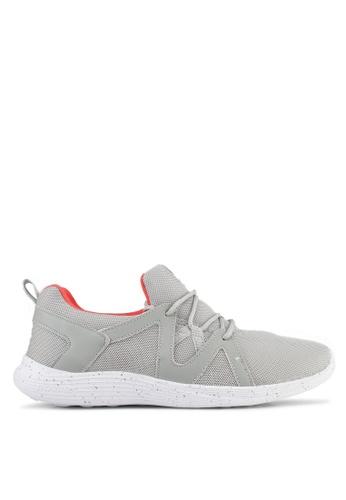 Power 灰色 Power Women Athletic Walking Shoes E4BE3SH57DD8ABGS_1