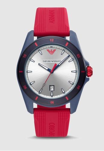Emporio Armani red Sigma Watch AR11219 44348AC6912A27GS_1