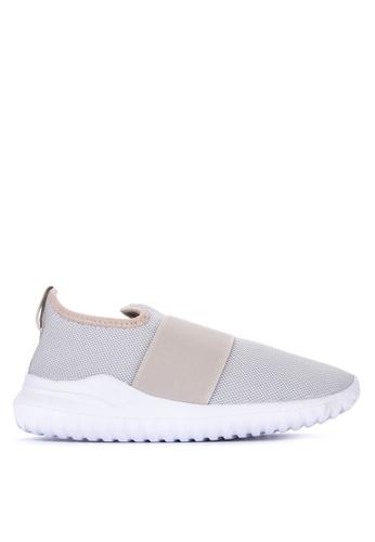 BENCH grey Plain Slip On Sneakers 0D8C8SH8B8AAB6GS_1