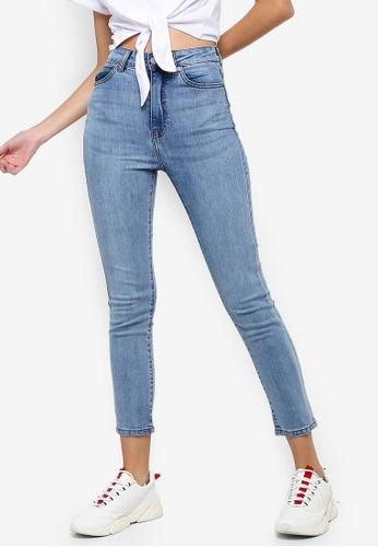 Dr Denim blue Cropa Cabana Jeans 3A821AA639CC63GS_1