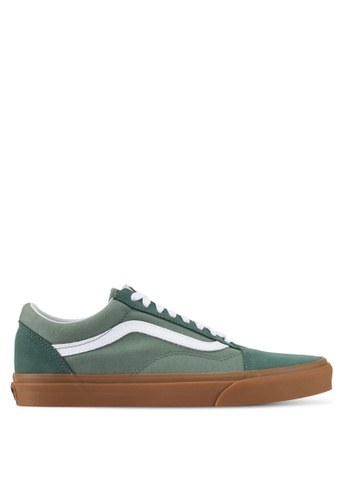 VANS green Old Skool Sneakers VA142SH0SWNCMY_1
