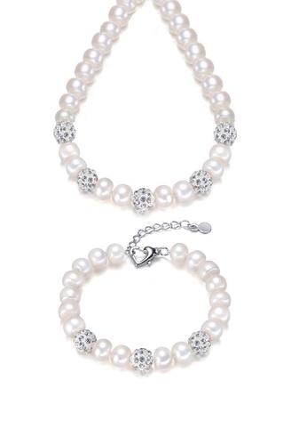 ADORA silver Pearl Crystal Set D517BACEB27E9EGS_1