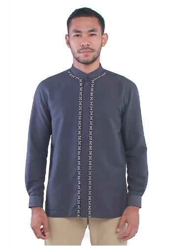 ZOYA blue Alaric Menswear ZOYA 7F543AAB13474DGS_1