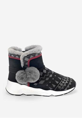 ASH 黑色 Mongolia Cb - 黑色靴 E672ASH5D0743DGS_1