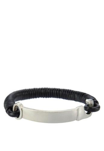 編繩拼接金屬esprit hk手鍊, 飾品配件, 手環