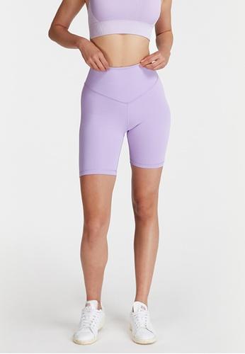 6IXTY8IGHT purple BIKE MICRO, Micro Bike Shorts HW08559 CFDD1AAE988631GS_1