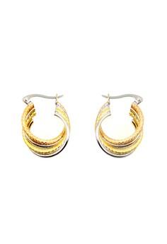 Layered earrings B-20135