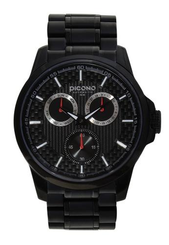 PICONO Watches black Eunice Carbon Fiber Weave Dial Fashion Watch PI771AC2VURYHK_1
