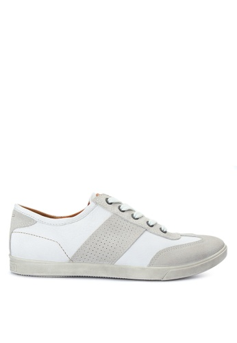 ECCO white Collin Sneakers EC876SH0JC7MPH_1