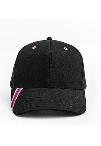 Flawless Flashbacks. black FF Black Embroidery Tape Unisex Trend Cap B5117AC759E06AGS_1