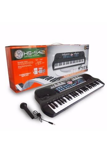 Ocean Toy multi Mainan Musikal Elektronik Organ Keyboard 54 Keys Mainan Anak HS5421 8F07DTHD67F880GS_1