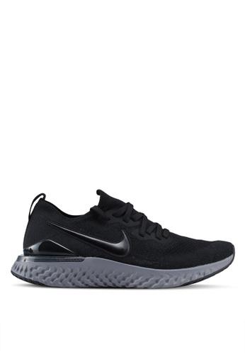 Nike black Nike Epic React Flyknit 2 Shoes 88EA1SHBDE54FEGS_1
