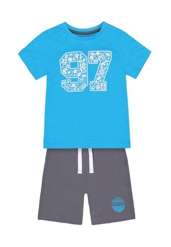 Mothercare multi Boys 97 T-Shirt and Shorts Set B1F40KA55F6865GS_1