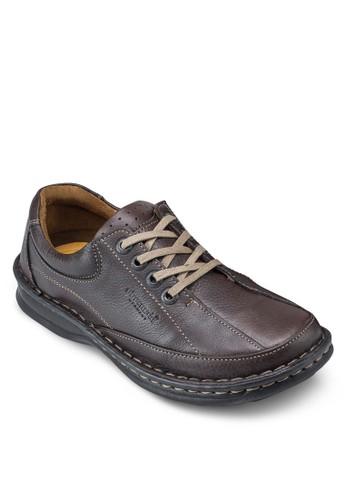 Jesprit衣服目錄acob 繫帶皮鞋, 鞋, 鞋