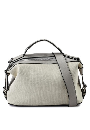 Keddo grey and white Rosalyn Sling Bag 1699EAC75219E5GS_1