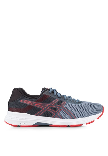 Asics grey Gel-Phoenix 9 Shoes E48AESHC2FE7C1GS_1