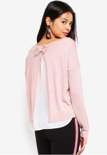 ONLY pink Darling Shen Pullover 3DD7BAA507D43AGS_1