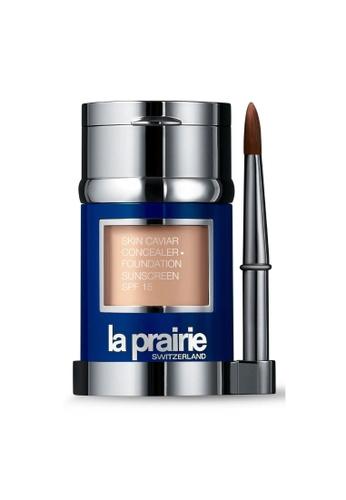 La Prairie La Prairie Skin Caviar Concealer Foundation SPF15 #N-05 Soft Ivory 30ml + 2g 108FEBED9A0D2FGS_1