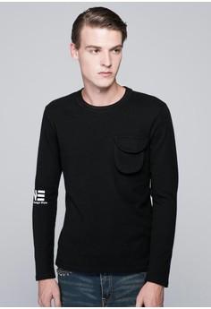 Devine Pocket Out Pullover