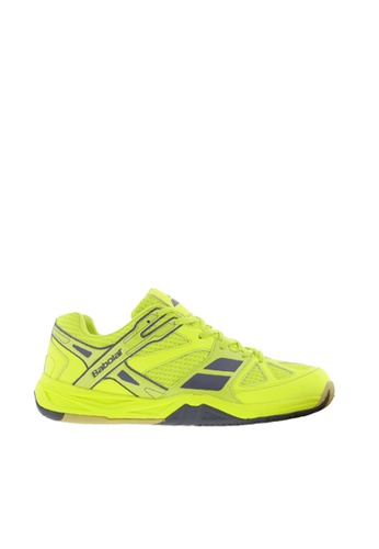 Babolat yellow Shadow First Junior Badminton Shoes BA220SH95UGIPH_1
