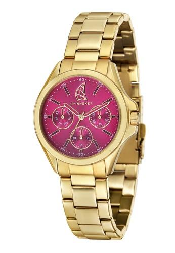 Spinnaker gold Spinnaker Women's Solid Bracelet Watch - SP-6002-44 81F4DAC35168B0GS_1