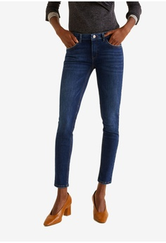 Mango blue Kim Skinny Push-Up Jeans 09DB4AAA0F0335GS 1 1683ebd55