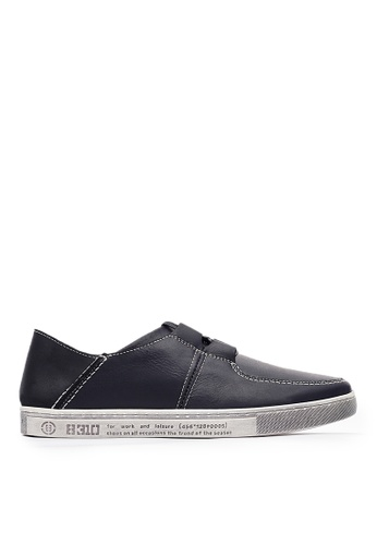 Life8 black 2way Casual Shoes-09822-Black 176DDSH8975CA4GS_1