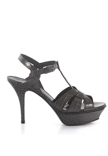 Saint Laurent 灰色 SAINT LAURENT/ 聖羅蘭TRIBUTE高跟涼鞋 19BA5SH46917D8GS_1