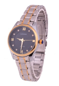Laurence Small Two-Tone Steel Watch