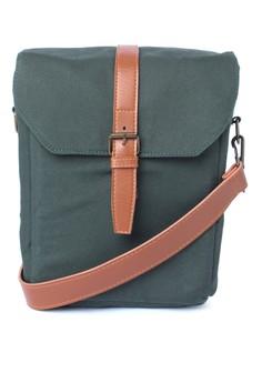 HUSQ Midnight Green Thermal Lunch Bag