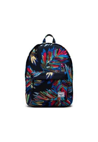 Herschel blue Herschel Classic Backpacks - Painted Palm DBE56AC1F55B0CGS_1