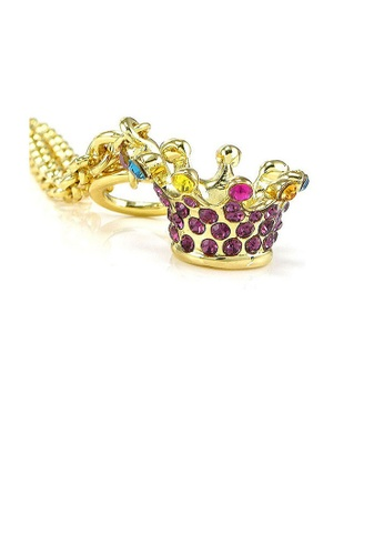 Glamorousky multi Crown Bracelet with Multi-color Austrian Element Crystals A6657AC978B027GS_1
