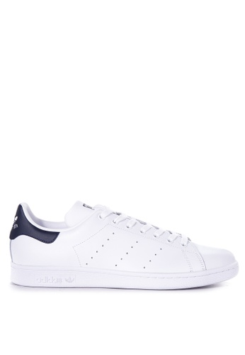 adidas white and navy adidas originals stan smith AD372SH71WRSMY_1