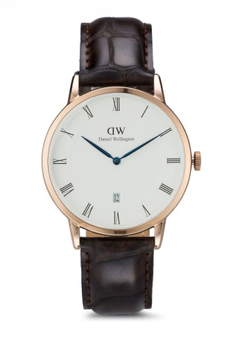 Dapper esprit 台中York 皮革手錶, 錶類, 飾品配件