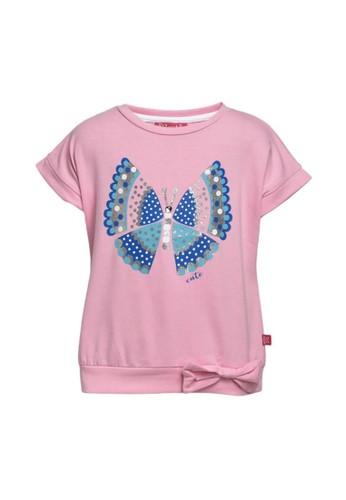 Cute pink Kaos anak perempuan D4D24KAEA084EEGS_1