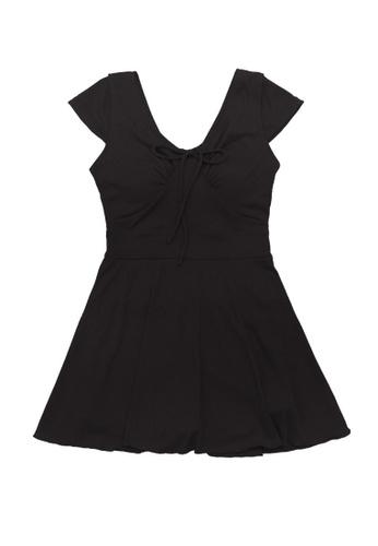 ZITIQUE black Women's One-piece Swimsuit - Black 06F35US10E8E39GS_1