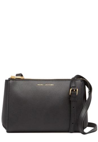MARC JACOBS 黑色 Marc Jacobs Commuter Crossbody Bag in Black 1C7EEACD3BDD20GS_1