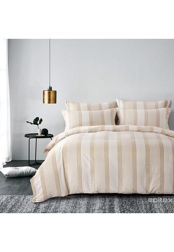 Epitex Epitex Urutora EC7801-1 1400TC Stonewashed Yarn-Dyed Bedsheet 76276HL4A9D386GS_1