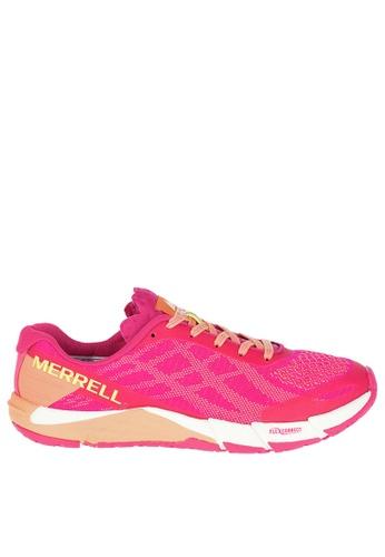 Merrell pink BARE ACCESS FLEX E-MESH C3FA4SHC8879D4GS_1