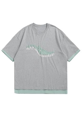 Twenty Eight Shoes Foam Printed Short T-shirt 1673S21 2EEDBAA024E2DDGS_1