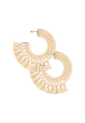 ALDO beige Amulree Tassel Earrings 21C00ACB2E38B4GS_1
