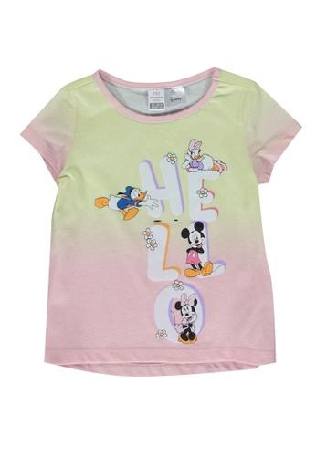 LC Waikiki pink Baby Girl's Disney Printed T-Shirt 88412KAA2B7A2FGS_1