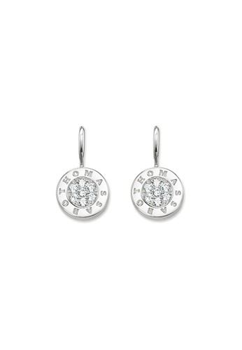 Thomas Sabo white Classic White Pave Earring 3AC6BACE743D68GS_1