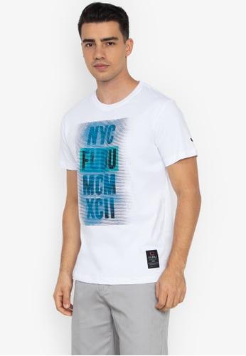 fb07540ded5e8 Shop FUBU Round Neck Regular Fit T- Shirt Online on ZALORA Philippines