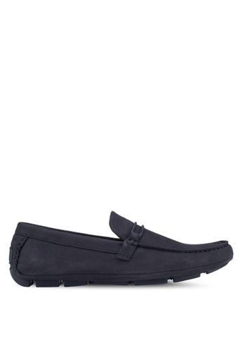 Call It Spring navy Rainy Loafers A416FSH7A9D458GS_1