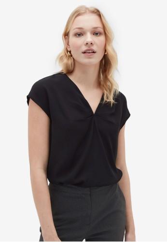 OVS black Basic Shirts 8957AAAF48CE41GS_1